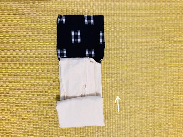 茅乃舎エコバッグの畳み方