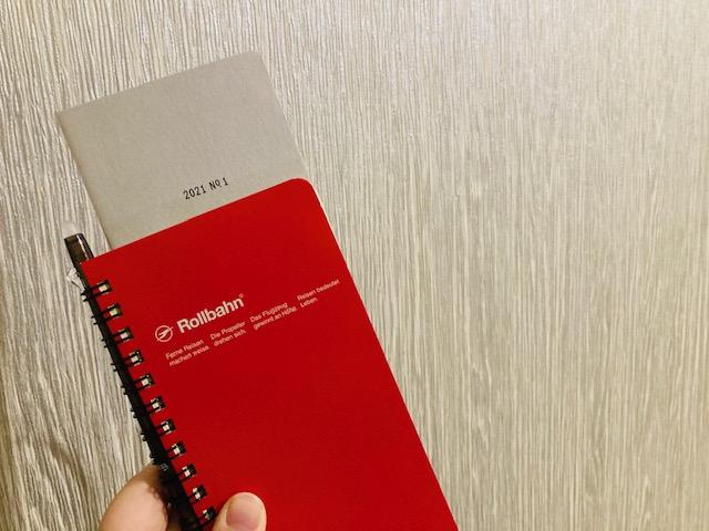 イレコ手帳は縦長の手帳ににもぴったり収まる