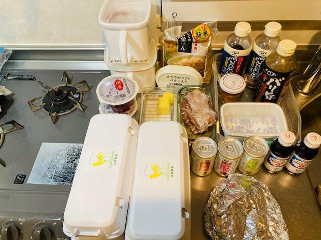 冷蔵庫の中身全部出す