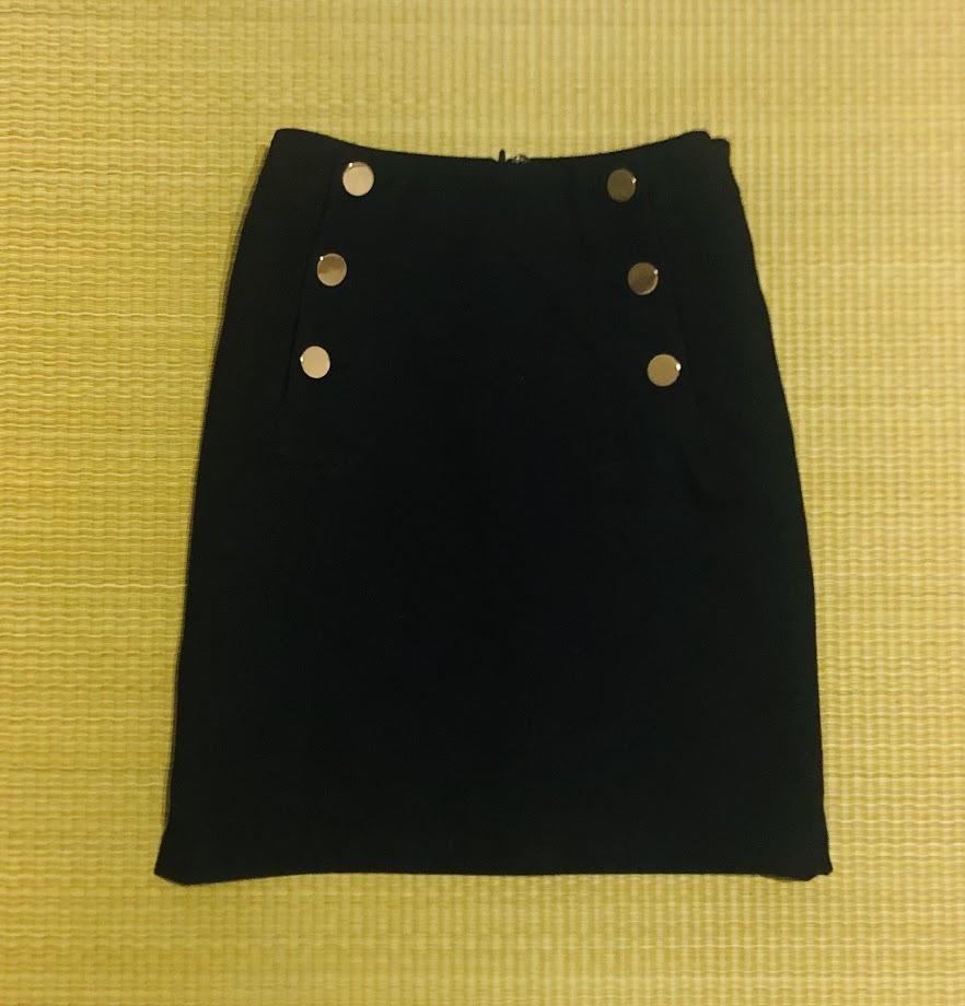 H&Mボックススカート