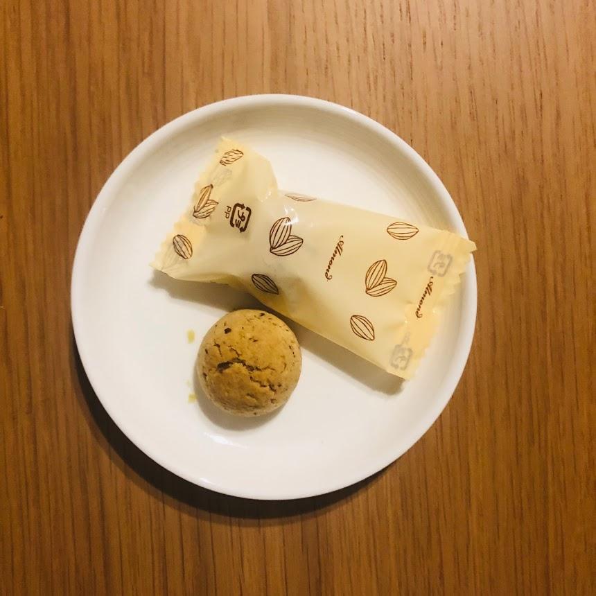 アーモンドパウダーたっぷりのクッキー_中身