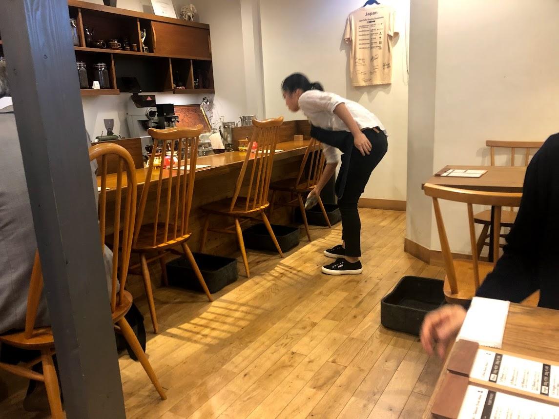 COFFEMAN店内