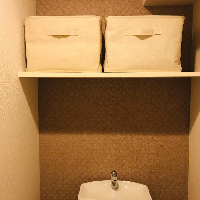 ポリエステルソフトボックス活用_トイレ