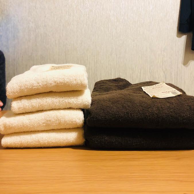 お風呂用タオル二人で7枚