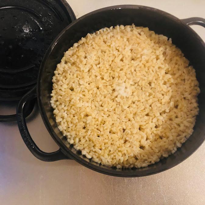 もち麦玄米_炊き上がり