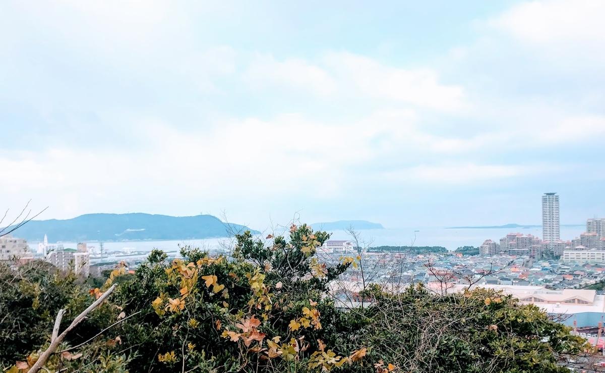 愛宕神社からの景色(西)