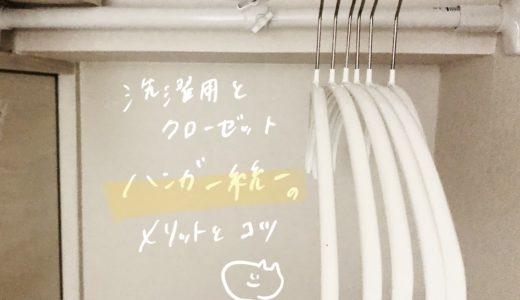 【洗濯と収納】ハンガー統一のメリットとコツ【MAWA】