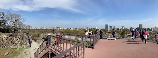 福岡城天守台跡