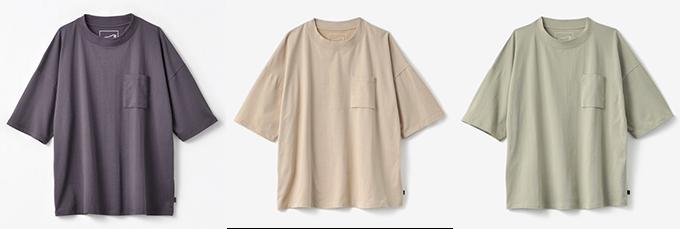 しまむら_おしゃれTシャツ色展開