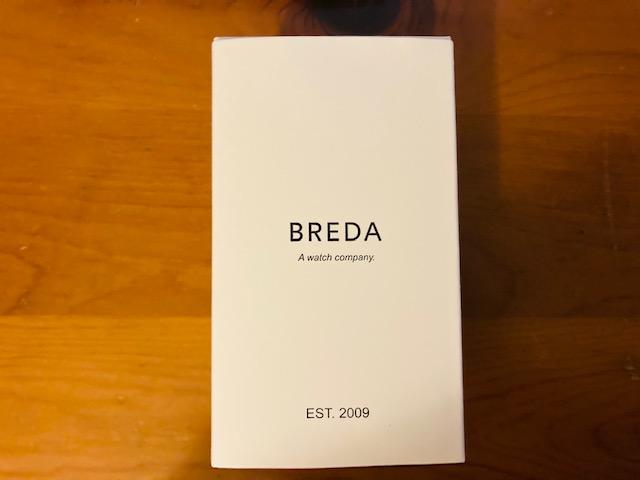 BREDA時計パッケージ